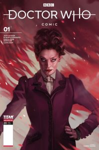 Doctor Who: Missy #1 Cover C by Claudia Caranfa