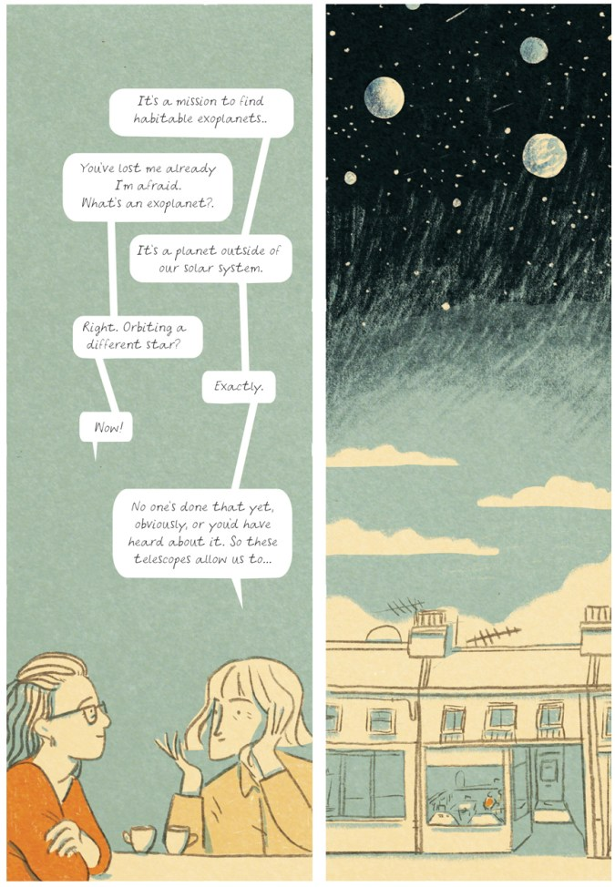 Lights, Planets, People! sample page