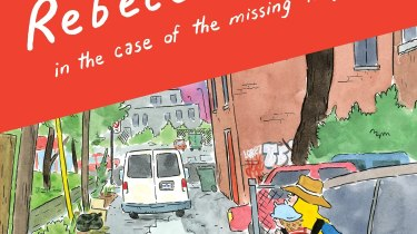 Rebecca and Lucie in the Case of the Missing Neighbor cover