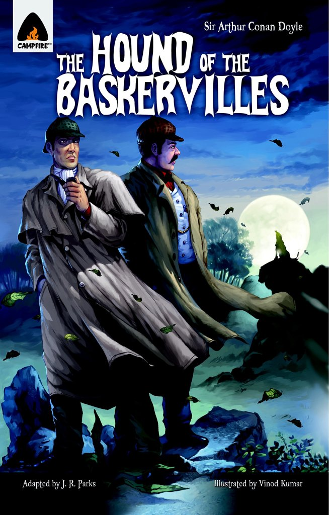 The Hound of the Baskervilles from Campfire Graphic Novels