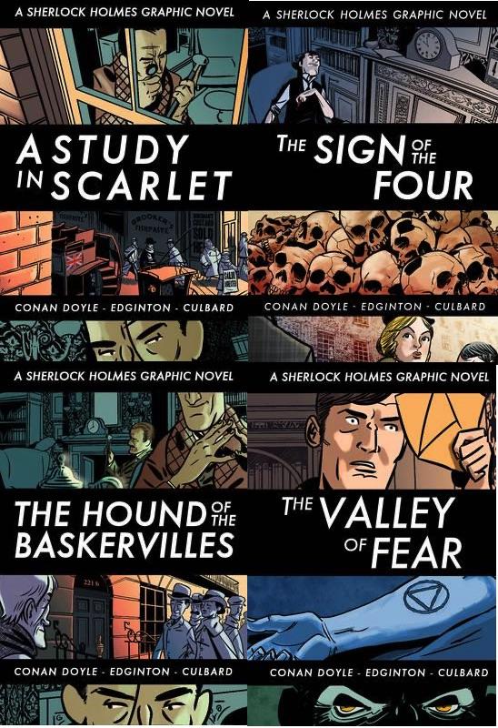 Sherlock Holmes graphic novels from SelfMadeHero (older versions)