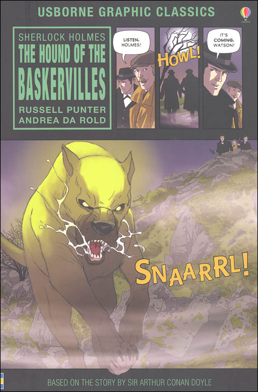 The Hound of the Baskervilles (Usborne Graphic Classics)