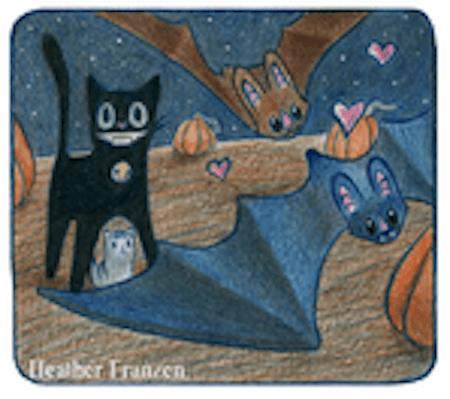 Scaredy Cat by Heather Franzen page