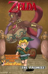 Zelda The promise comic adulto