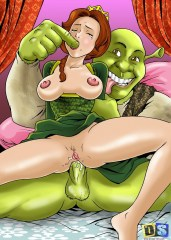 Shrek's Dreamland Drawn Sex
