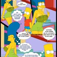 Los simpsons viejas costumbres 3 Recordando a Mama