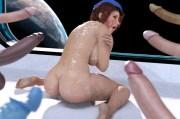 Space Captain- 3D comic