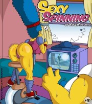 Sexy Spinning – Los Simpsons xxx (Kogeikung)