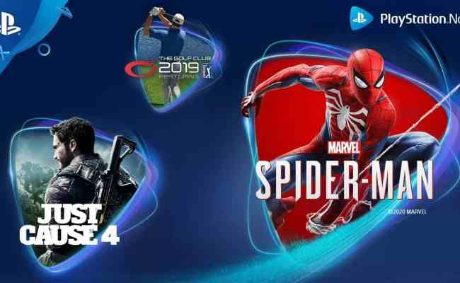 Ps Now April Games Include Marvel S Spider Man Comic Years