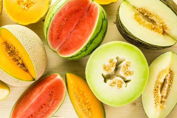 Alimentos da estação: Verão