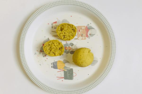 Pão de batata doce e chia
