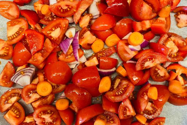 Molho de tomate assado