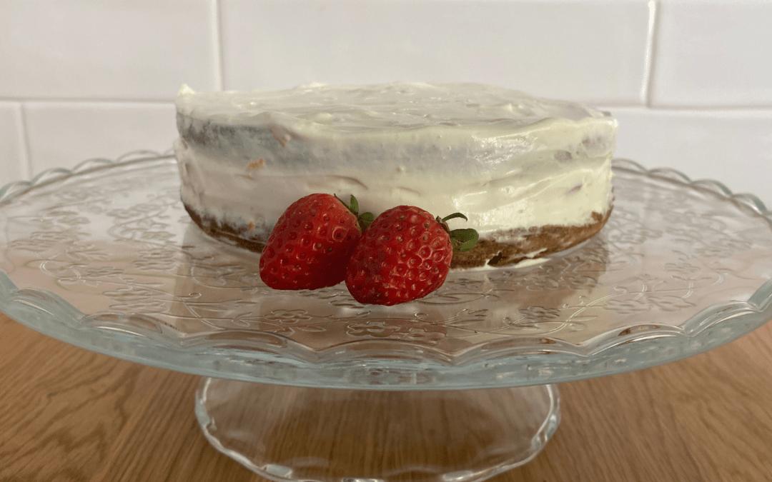 Cobertura para bolo de aniversário (sem açúcar)