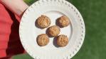 Muffins de pêssego blw