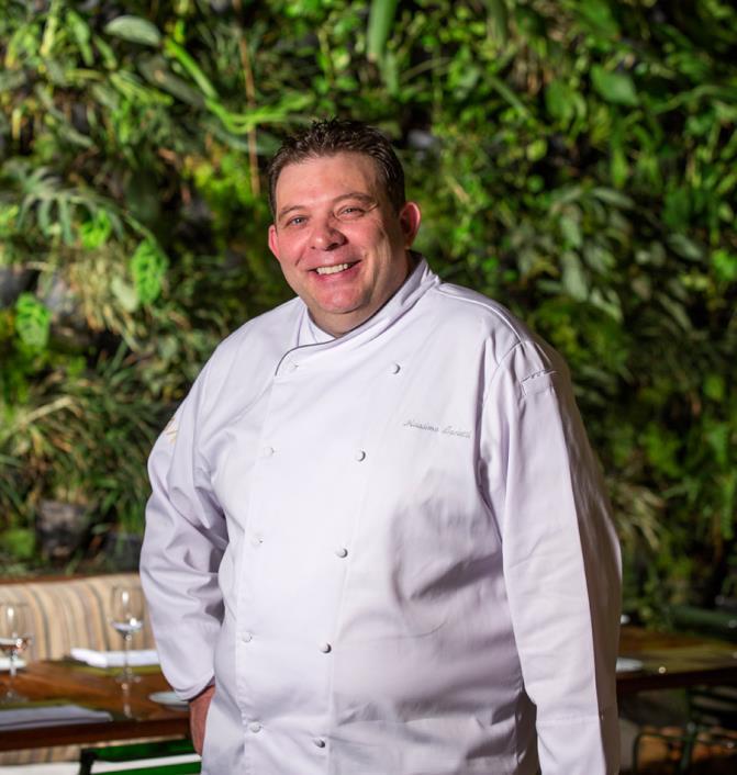 Kaá tem chef italiano no comando da sua cozinha