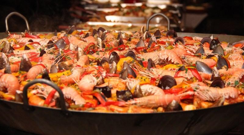 Paella do Festival do Pescado