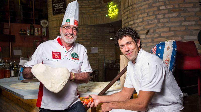 Chef do Mocotó cria pizzas para o Graaça do Napolli