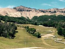 cerro chapelco vista aerea da estação de esqui 1