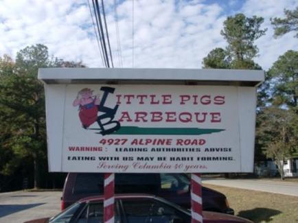 restaurante columbia - little pigs