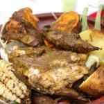 Receta de Pachamanca a la olla de tres sabores