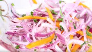 Receta de Salsa Criolla Peruana