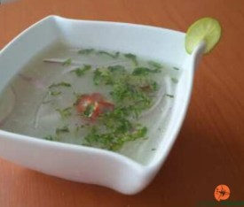 Receta de Chilcano de pescado Peruano