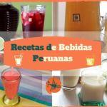 Recetas de bebidas Peruanas