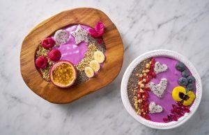 yogurt de pitahaya con frutasa