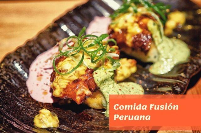 Comida Fusión Peruana