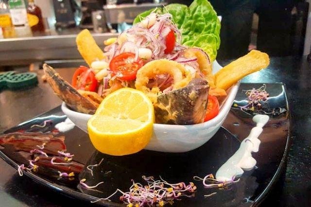 restaurante peruano Lima y Punto