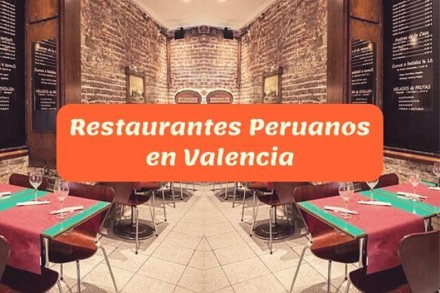 ¿Cuál es el mejor restaurante peruano en Valencia?