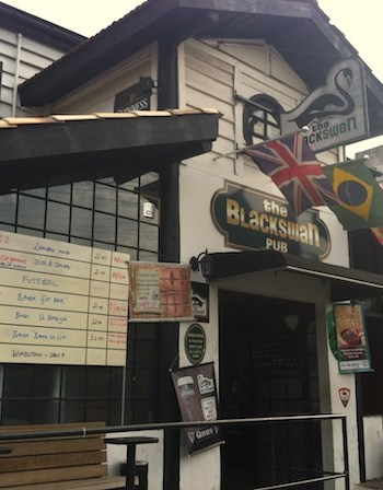 The Blackswan Pub, almoço executivo