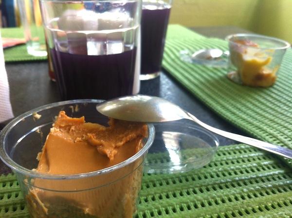 Sobremesa: Tortinha de bolacha