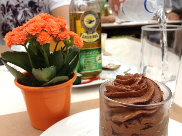 Mousse de chocolate para a sobremesa