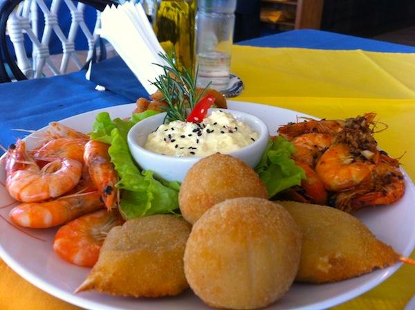 Sequência de camarões, Barracuda Grill