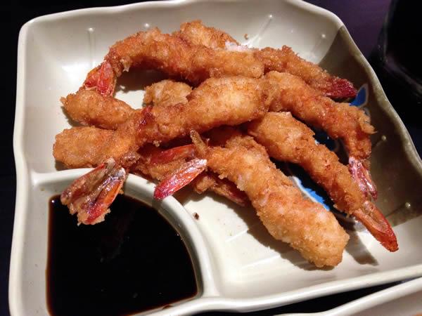 Ebi furai: camarão empanado
