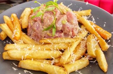 Tuna and Frites - Terraza Fortuna