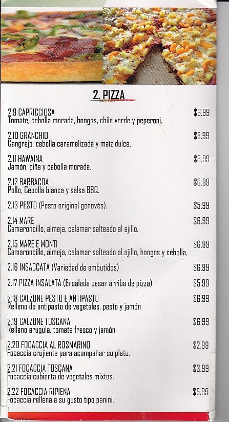 Bajo el sol de Los Planes de Renderos La Cocina Toscana  Comiendo Comida