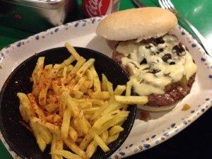 Menú Hamburguesa y Patatas