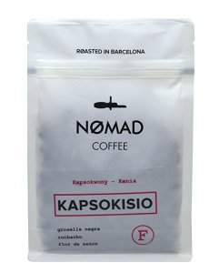 Nomad Coffee Filter en grano. Kapsokisio, Kenia - Roasted in Barcelona - 250gm