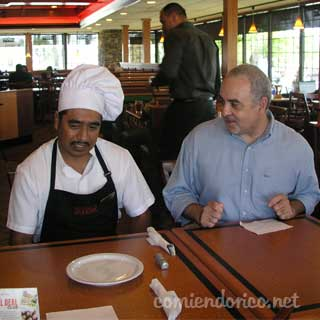 Visita al Restaurante Sizzler de Pico Rivera California