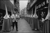 SPAIN. Cartagena. 1981. Waiter! chocolate with churros!