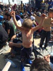 Refugiados Idomeni. Foto: @Fotomoimiento