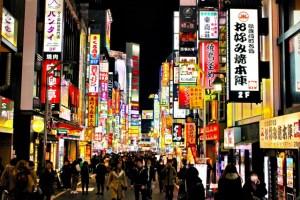歌舞伎町の帰り道