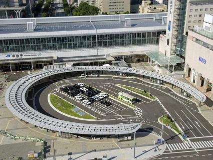 富山駅、その周辺