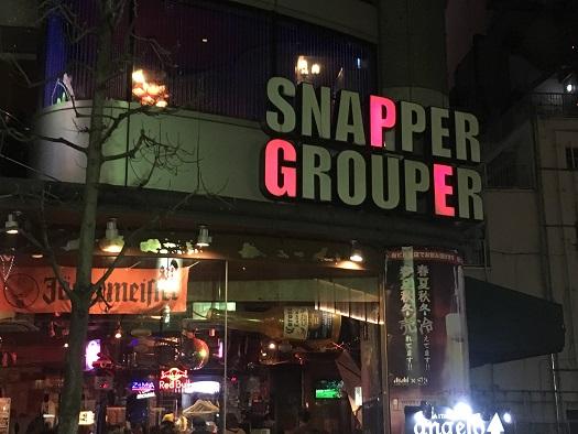 スナッパー&グルーパー