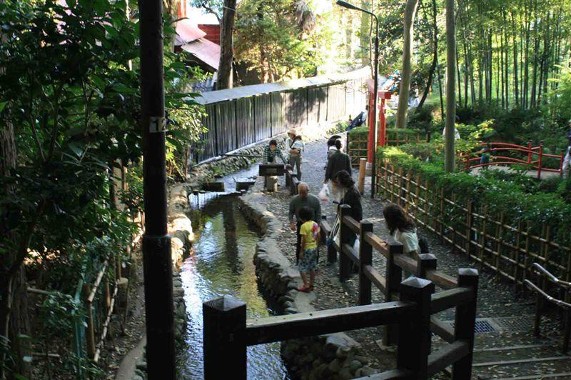お鷹の道・真姿の池湧水群