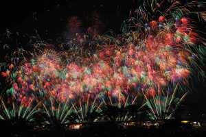 茨城あるある:土浦花火大会にいく