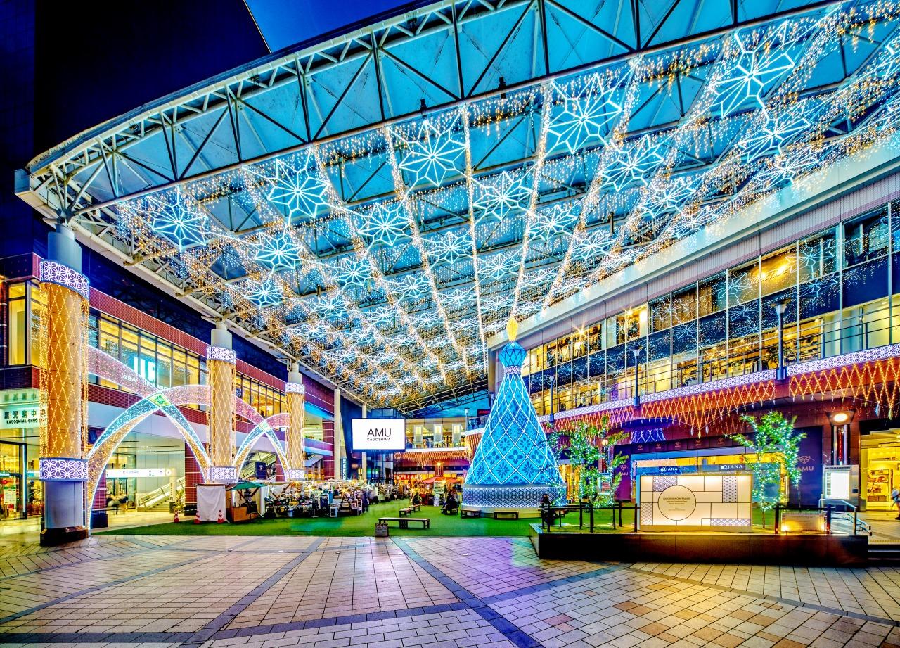 鹿児島中央駅アミュ広場