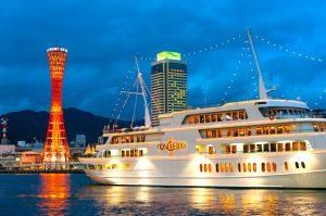 神戸港クルーズ船